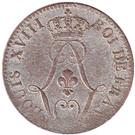 10 centimes - Louis XVIII – avers