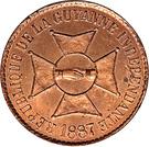 10 centimes (Essai) – avers
