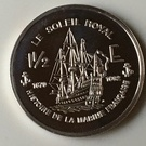 1 1/2 euro (Le Soleil Royal) – revers