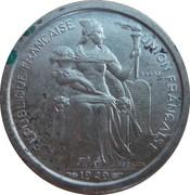 2 francs (E.F.O., essai) – avers