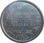 2 francs (E.F.O., essai) – revers