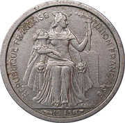 50 centimes (E.F.O.) – avers