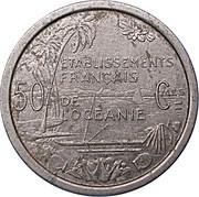 50 centimes (E.F.O.) – revers