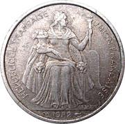 5 francs (E.F.O.) – avers