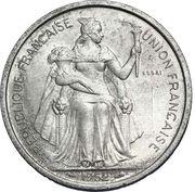 5 francs (E.F.O., essai) – avers