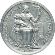 1 franc (piefort essai) – avers