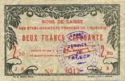 2.50 Francs – avers