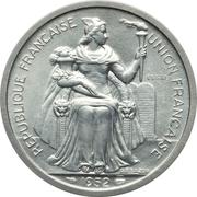 5 francs (piefort essai) – avers