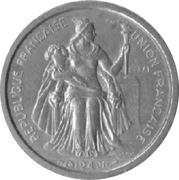 50 centimes (E.F.O., essai) – avers