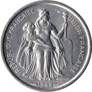 1 franc (E.F.O.) – avers
