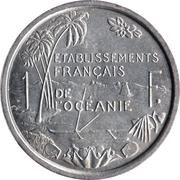 1 franc (E.F.O.) – revers