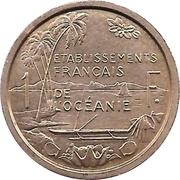 1 franc (E.F.O., essai) – revers