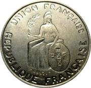 1 franc (Essai, avec listel) – avers