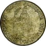 50 centimes (essai, avec listel) – avers
