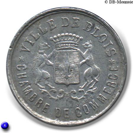 5 centimes chambre de commerce blois 41 france notgeld numista - Chambre du commerce blois ...