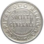 5 centimes - Société Générale – avers