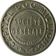 25 centimes - Société Générale – avers