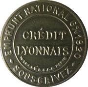 25 centimes -  Crédit Lyonnais – avers