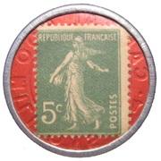 5 centimes - Société Générale – revers