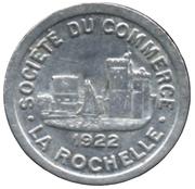 10 Centimes Société du Commerce La Rochelle [17] -  avers