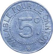 5 Centimes Saint André de l'Eure – revers