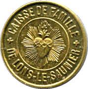 5 Centimes Caisse de Famille - Lons-le-Saulnier [39] – avers