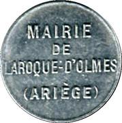 5 Centimes - Mairie de Laroque d'Olmes - Ariége [09] – avers