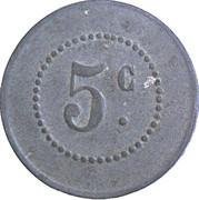 5 centimes - La Populaire - Lespignan [34] – revers