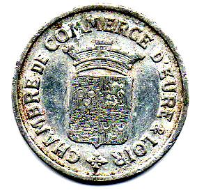 25 centimes chambre de commerce eure et loir 28 france notgeld numista - Chambre des metiers eure et loir ...