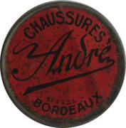 5 centimes - CHAUSSURES ANDRÉ - Bordeaux – avers