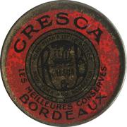 5 centimes - Cresca (conserves) - Bordeaux – avers