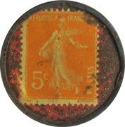 5 centimes - Cresca (conserves) - Bordeaux – revers