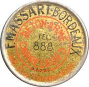 5 centimes - F. Massart - Béton armé carrelage - Bordeaux – avers