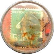 5 centimes - Conserves GARGANTUA - Lorient – revers