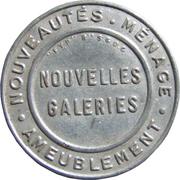 5 centimes - Nouvelles galeries – avers