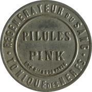 5 centimes - PILULES PINK - Paris – avers