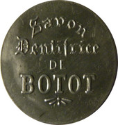 5 centimes - savon dentifrice de Botot - Levallois-Perret – avers