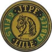 10 centimes - FILS  JTPF - Lille – avers