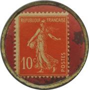 10 centimes - FILS  JTPF - Lille – revers