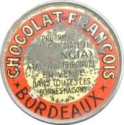10 centimes - Chocolat François - Talence & Bordeaux – avers