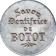 10 centimes - Dentifrice De Botot - Levallois-Perret – avers