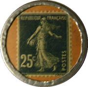 25 centimes - savon dentifrice de Botot – revers