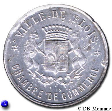 10 centimes ville de blois 41 france notgeld numista - Chambre du commerce blois ...