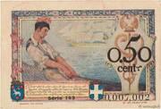 50 centimes - Chambre de Commerce de Nice et des Alpes Maritimes [06] – revers