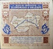 50 centimes - Chambres de Commerce d'Orléans  [45] et de Blois [41] – revers