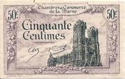 50 centimes - Chambre de Commerce de la  Marne [51] – avers