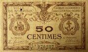 50 centimes - Chambre de Commerce des Côtes du Nord [22] – avers