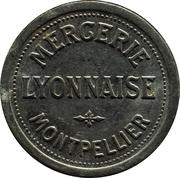 10 centimes - Mercerie Lyonnaise - Montpellier [34] – avers