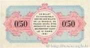 50 centimes - Chambre de Commerce d'Annecy [74] – revers