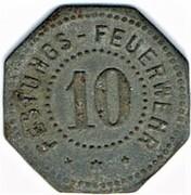 10 pfennig - Festungs-Feuerwehr - Thionville (57) – avers